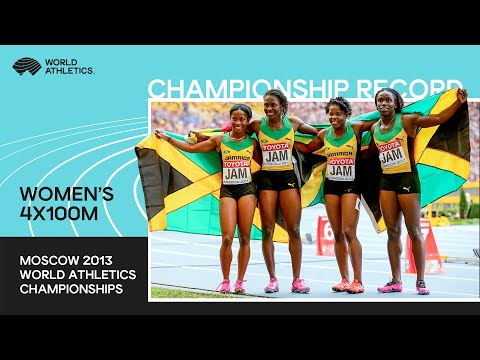 Uncut - 4x100 Women Final Moscow 2013