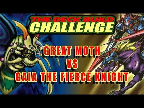 GREAT MOTH VS GAIA, THE FIERCE KNIGHT - The Deck Build Challenge w/ Rueblie Vs. Decoolipascal