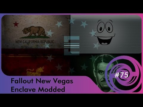Fallout New Vegas: Enclave Modded 75