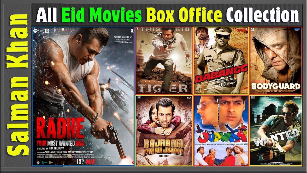 Salman Khan Eid Release Movies | Box Office Collection | History of Salman Khan Eid Releases Movies.