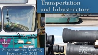Phoenix City Council Transportation And Infrastructure Subcommittee Meeting Feb. 17, 2015