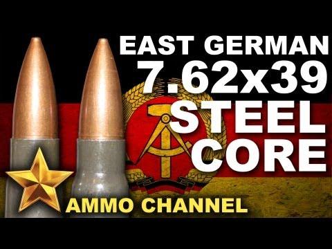 AMMOTEST: 7.62x39 East German Steel Core