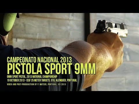 Campeonato Nacional de Pistola Sport 9mm - 2013