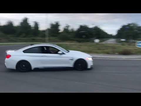 BMW M4 M Performance - Crazy Drifting