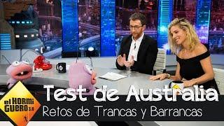 Elsa Pataky en el test más absurdo sobre Australia con Petancas y Barrancas - El Hormiguero 3.0