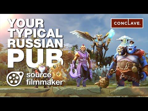 Dota 2 SFM - Your Typical Russian Pub