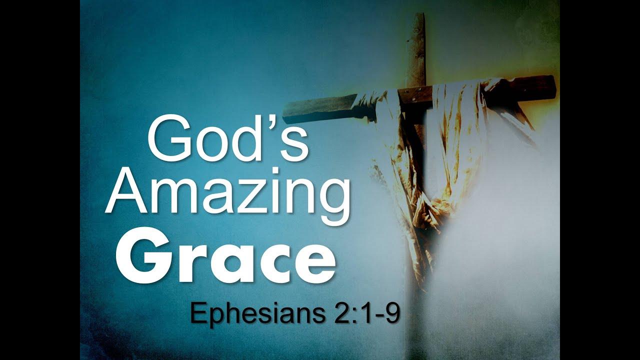 """Sunday AM Sermon 08-04-2013 """"God's Amazing Grace"""" - YouTube"""