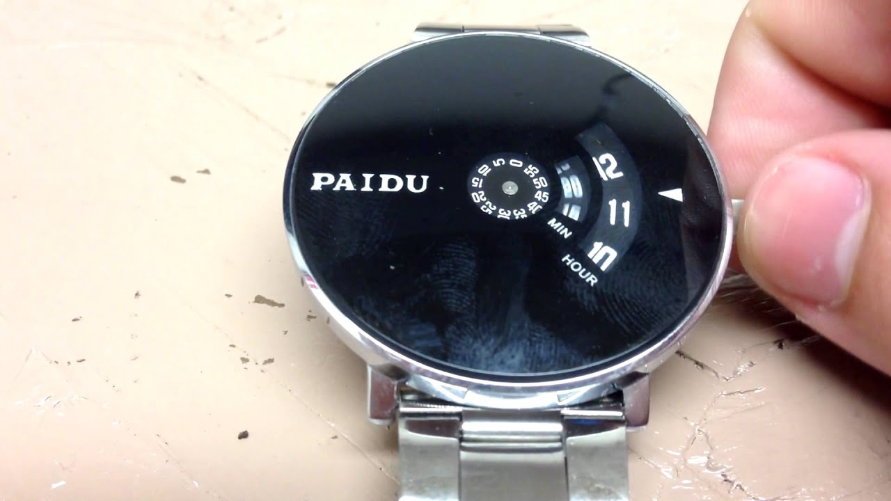 Paidu Turntable Watch Review Can This 7 Watch Really Be Any Good Youtube