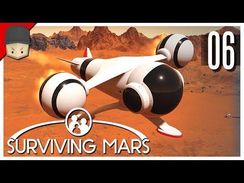 Surviving Mars - Ep.06 : SHUTTLES & MEDIUM DOME!