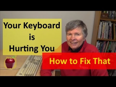 You are using your keyboard and wrist rest wrong. Make a wrist rest in 3 Seconds