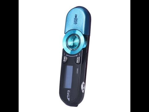 blau Lcd Usb Karte Mp3 Player 16 Gb Lcd Usb Bildschirm Radio Musik Mp3 Fm Tv Flash Player Mp3-player