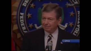 John Ashcroft Media Announcement Regarding the 9/11 Attacks (9/18)