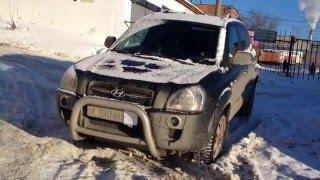 Hyundai Tucson, ishlab chiqarish, ta'mirlash Viktor Ulanov motors
