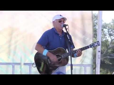 Jimmy Buffett sings The Pascagoula Run in Pascagoula, Miss.