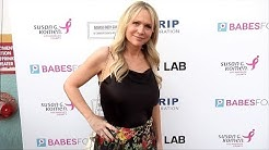 Barbara Alyn Woods 4th Annual #BabesForBoobs Pink Carpet