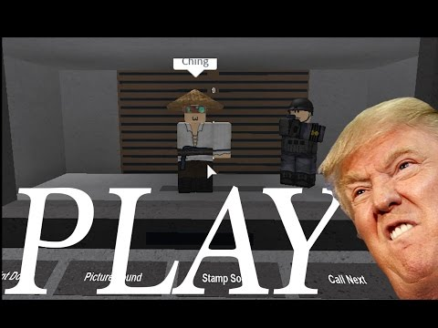 "[ROBLOX] Donald Trump Border Inspection - ""Papers Please"" games - Playaround"