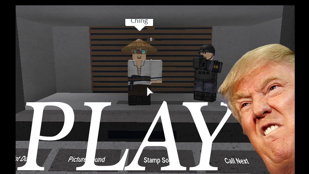 [ROBLOX] Donald Trump Border Inspection -