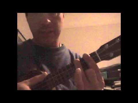 Ukulele Cover And Tutorial Of Men At Works Overkill Youtube