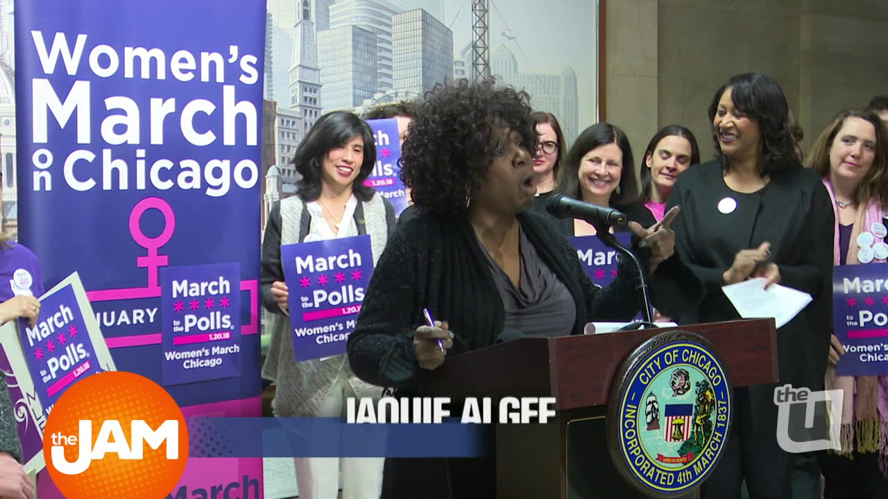 Follow Along as Women March in Chicago