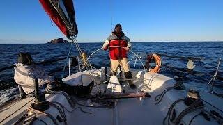 navegacion de barcelona a altea por columbretes