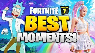 25 BEST Fortnite SEASON 7 Moments