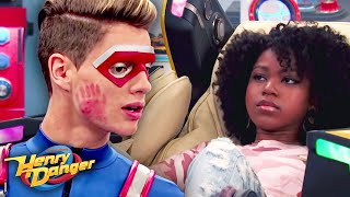 Kid Danger Gets Slapped, Then Gets a Massage 👋 Henry Danger | #FunniestFridayEver