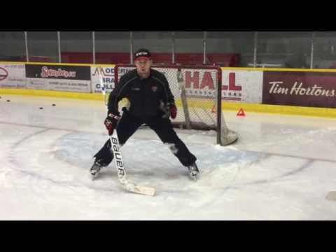 Ice Hockey Goalie Body Mechanics/ Eye Trajectory w Pro Goaltender Coach Sean Murray