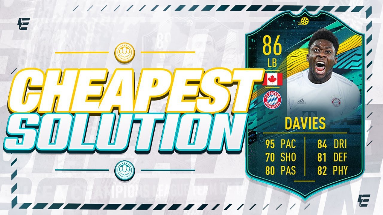 FIFA 20 PLAYER MOMENTS ALPHONSO DAVIES SBC CHEAPEST SOLUTION ...