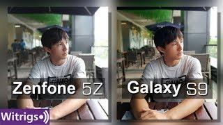 Asus Zenfone 5Z vs Samsung S9 Camera Test / Camera Comparison