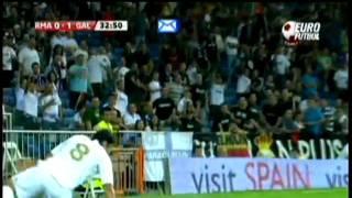 Real Madrid - Galatasaray 2-1 Mac Golleri (Türkce) 24.08.2011