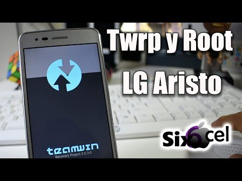 Twrp y Root *LG Aristo m210/ms210* - YouTube