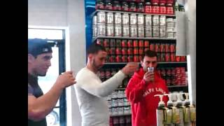 EVL ENGN shot bar at NATURALBODY INC