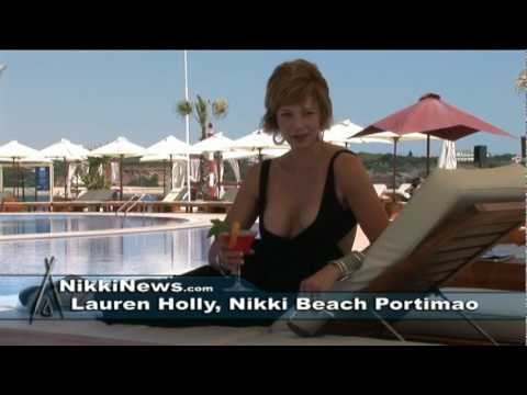 Lauren Holly in Portugal with Mike and Jeniya Penrod