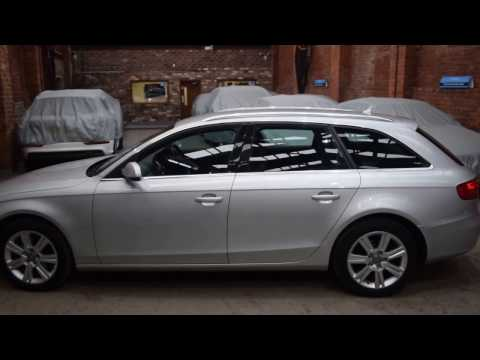 2010 60 Reg Audi A4 2.0 TDI Technic Estate Quattro Man Met Silver JDS Autos Sheffield 1