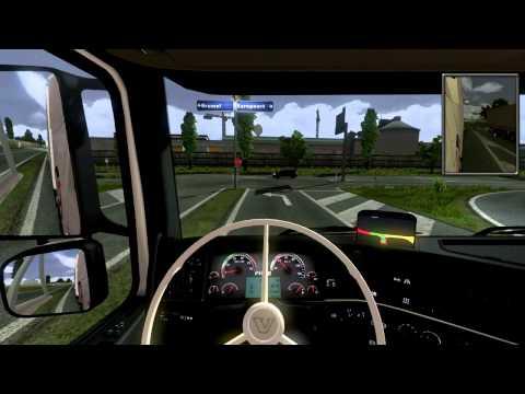 euro truck simulator 2  van rotterdam naar geneve  deel 1