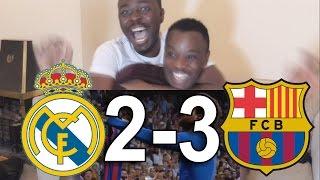 Real Madrid vs Barcelona 2-3 El Classico: Live Fans REACTION