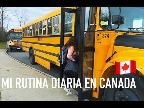 MI RUTINA EN CANADA + high school tour | Becas FAO| IreneFerMolina
