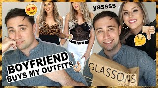 MY BOYFRIEND BUYS MY OUTFITS CHALLENGE! 😜💩
