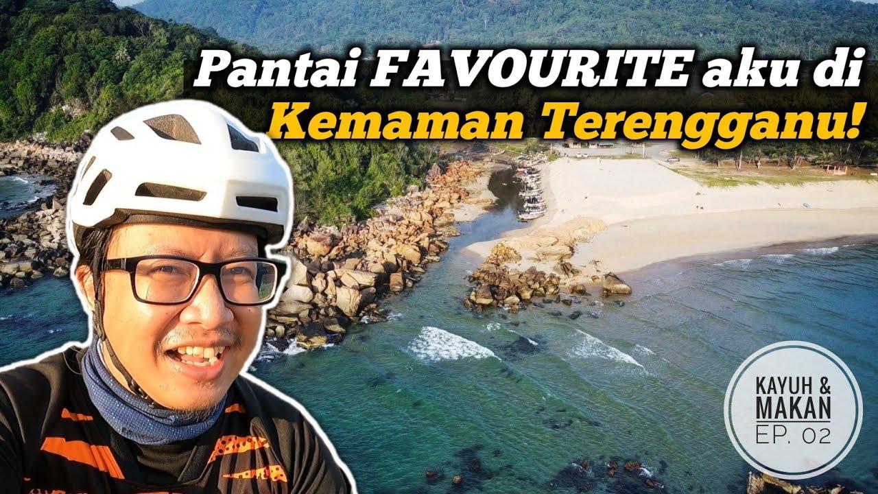 Sunrise cun di pantai Favourite aku di Kemaman, Terengganu - Kayuh & Makan (Ep. 2)