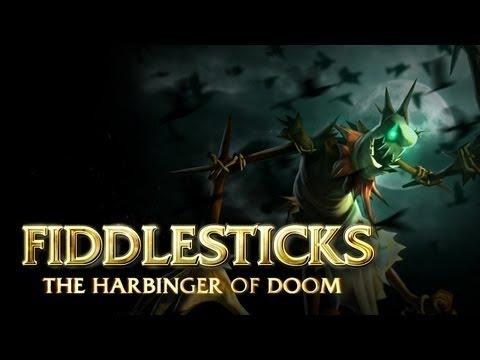 Fiddlesticks Champion Spotlight | Gameplay - League of Legends