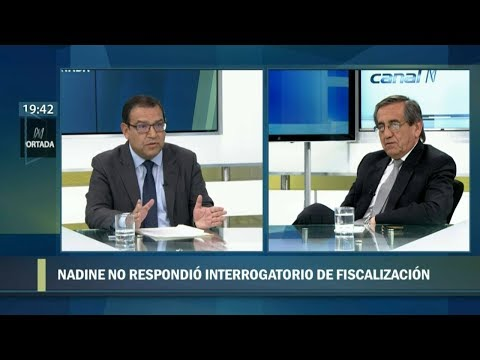 N Portada 16/10 Alberto Otárola vs. Jorge del Castillo: casos Nadine Heredia y Ollanta Humala