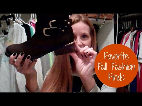 Favorite Fall Fashion Finds 2015
