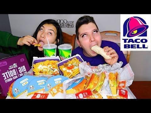 (Not For Kids) Taco Bell Box • MUKBANG