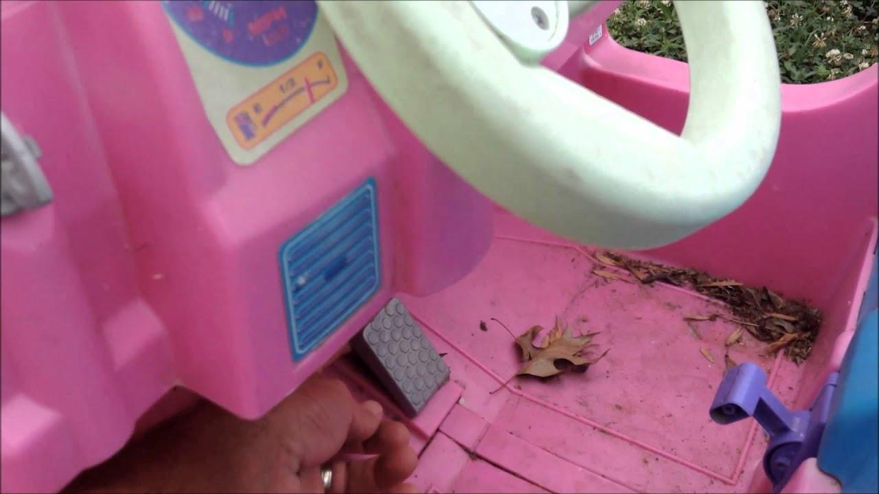 how to repair fix power wheels barbie jeep 12 volt electric powerwheels troubleshooting youtube [ 1280 x 720 Pixel ]