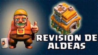 Aldeas de Ayuntamiento 7 | Revisión de Aldeas | Clash of Clans con TheAlvaro845 | Español