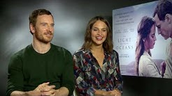 Michael Fassbender and Alicia Vikander show their admiration for each other