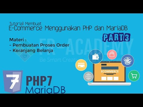 Proses Order & Shoping Chart - Tutorial Membuat E-Commerce Menggunakan PHP dan MySQLi Part 3