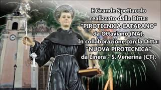 Gravina di Catania 12 Giugno 2019 Anniversario del Cereo e Spettacolo PIROTECNICA CATAPANO