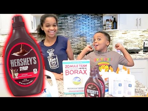 Thumbnail: DIY SLIME Hershey Chocolate Syrup FAIL! Shasha and Shiloh - Onyx Kids