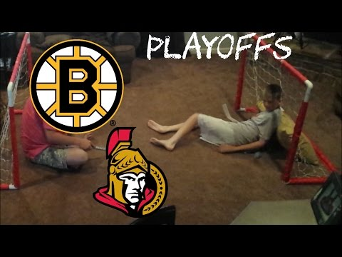 NHL PLAYOFFS - SENATORS/BRUINS | BEST OF 3 - LOW FAMILY PRODUCTIONS